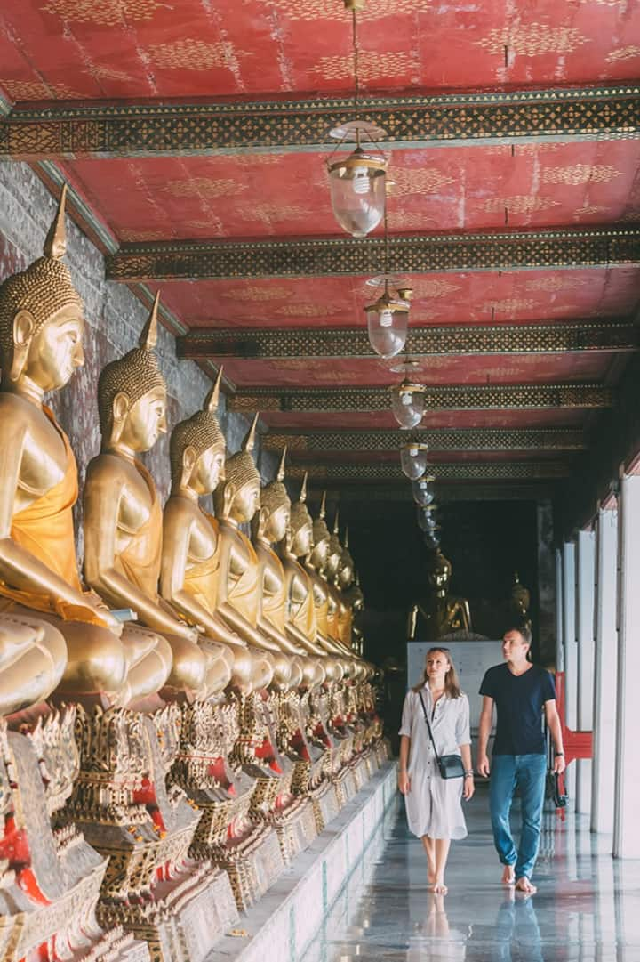 Experience like local people in temple