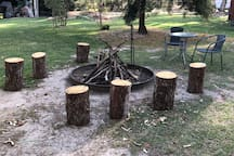 Let us know if you would like the fire pit set ready to enjoy relaxing with a wine or a beer.