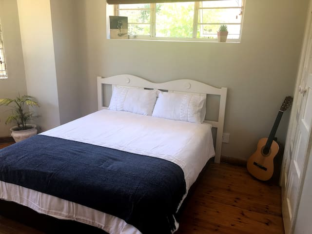 Light and characterful bedroom in share-house