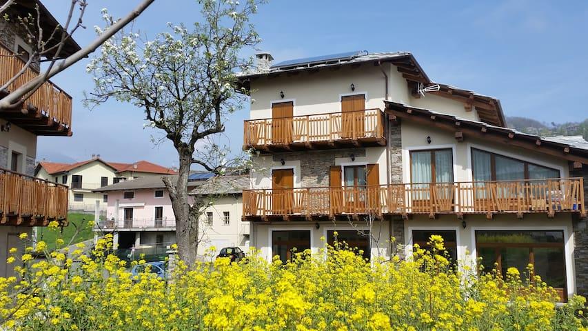 Relax VAL CHISONE a 30min da Torino - Prarostino - Wohnung