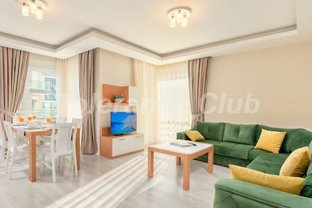 Lxry 1 BR apartment excelent for the famİlies ML1 - Antalya - Apartment