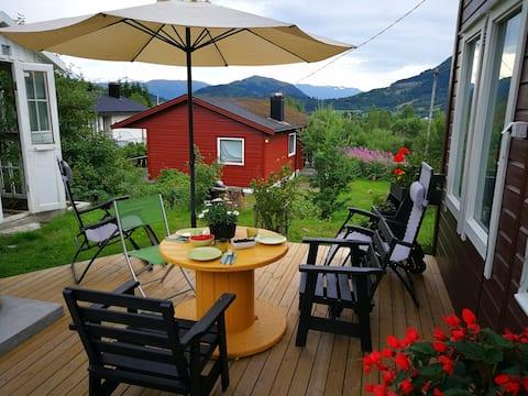 Espe cabin with sauna near Harpefossen ski center
