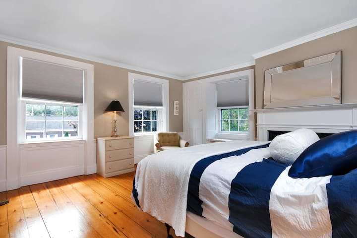 Upstairs Guest Room #1 with King Bed