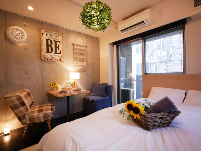 Relaxing Room in Shinjuku/Free WiFi - Shibuya-ku - Apartmen