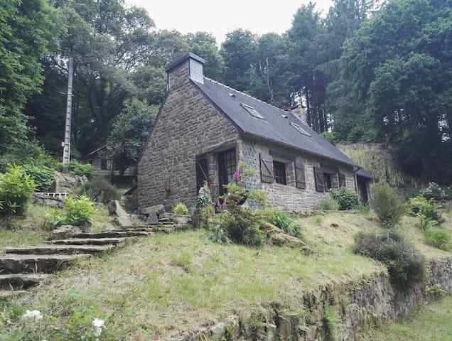 Maison atypique dans la forêt - Trégarvan - Huis