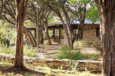Large Blanco Riverfront home on 25 acres - Wimberley - House