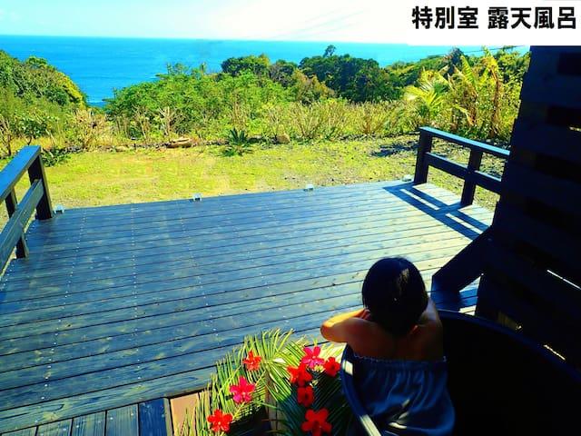 Marvelous sea view Cottage open air bath & Skydeck