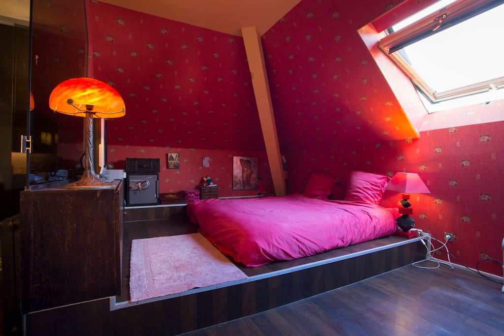 Chambre Double Lit King Size Guesthouse For Rent In Guebwiller Alsace France