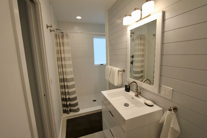 Newly renovated private bathroom