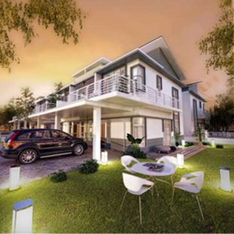 Bandar Saujana Putra House, near KLIA and KLIA2 - Bandar Saujana Putra