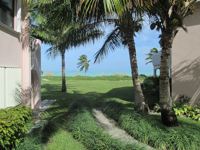 Treasure Cay Oceanfront Condo incredibly situated