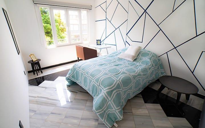 Peaceful room near Masaryk Avenue 3A