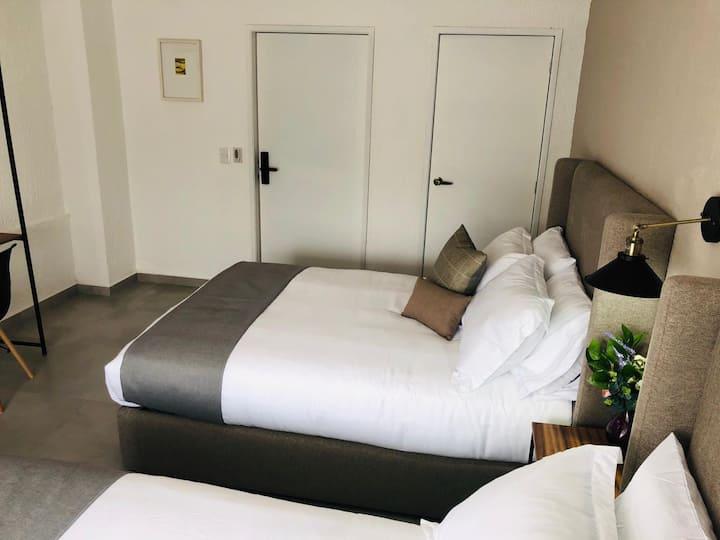 103 Habitación nueva tipo Hotel excelente para des