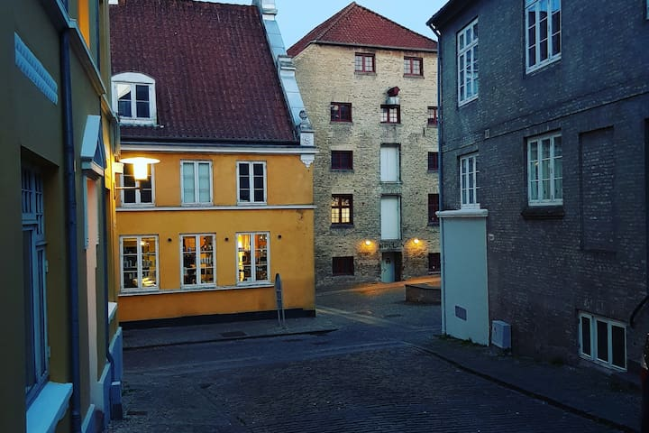 Unik lejlighed i den gamle del af Haderslev
