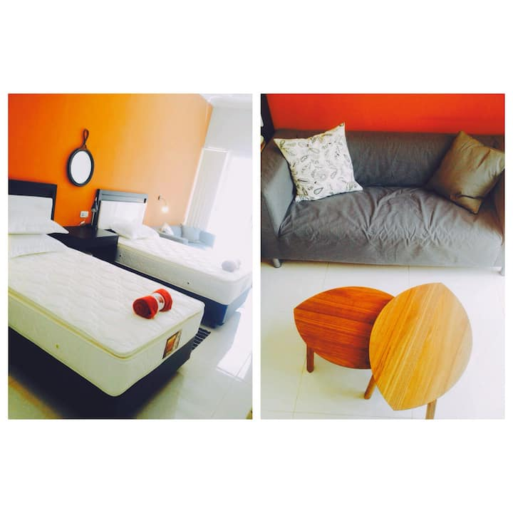 A3: Deluxe Twin Room–  2 Single Bed