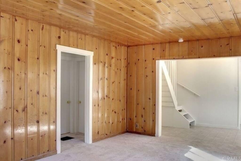 living room into kichen