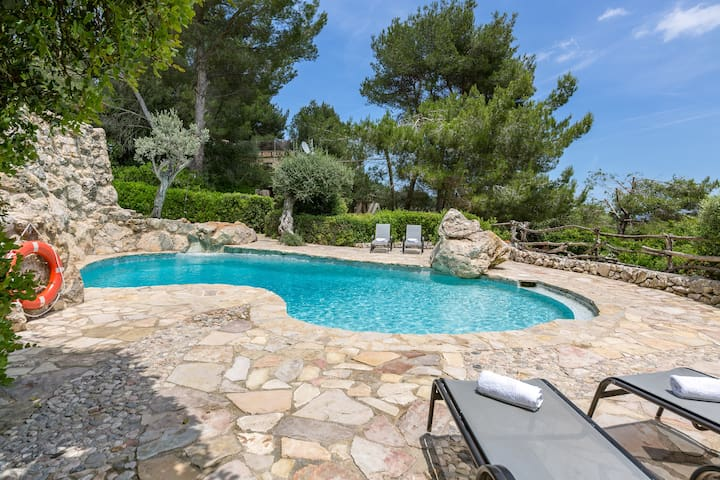 Charming stone villa with private pool - Villa Son del Rio Vell