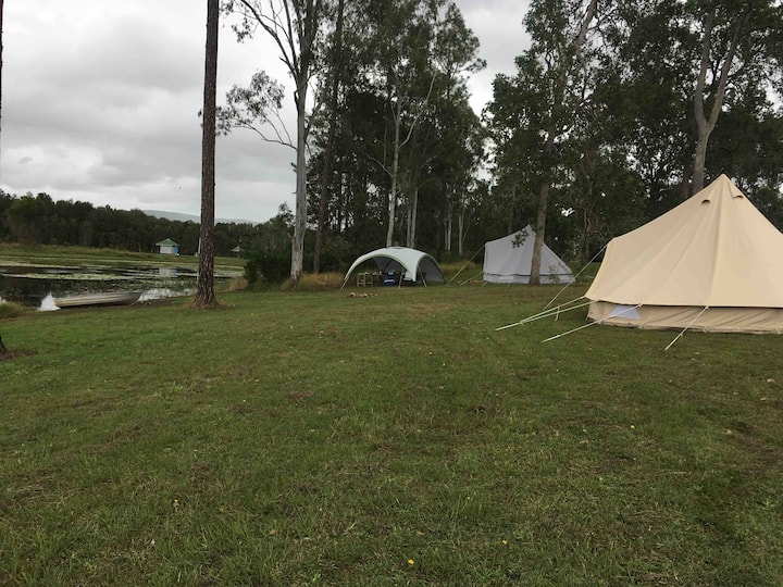 Tent hire @ Bushy's