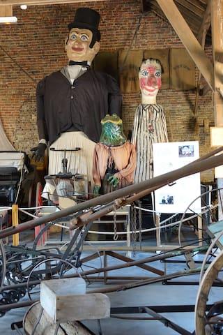 Totor au musée de la Vie Rurale de Steenwerck