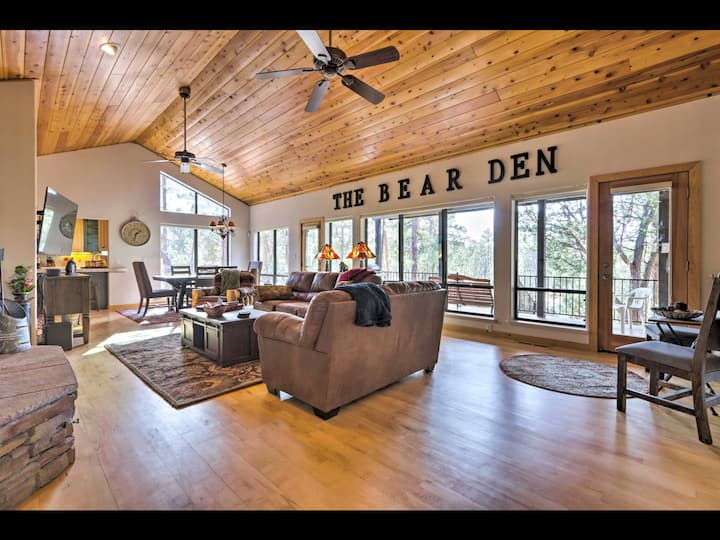 THE BEAR DEN  A KID FRIENDLY Retreat Year Round