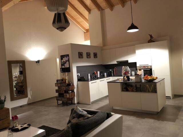 Superbe appartement au coeur de la Gruyère