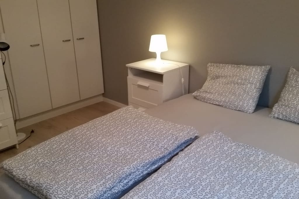 Private room, dobble bed