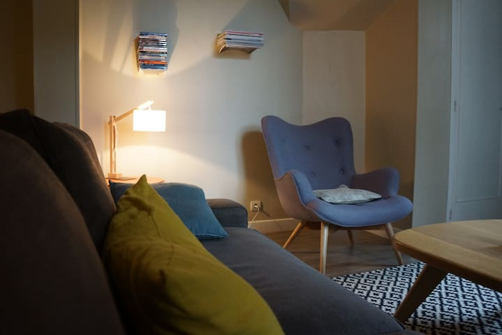 A deux pas de la mer, 2P dans maison de charme - Villers-sur-Mer - Apartment
