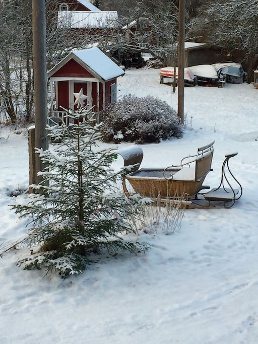 Horse and Sledge rides available