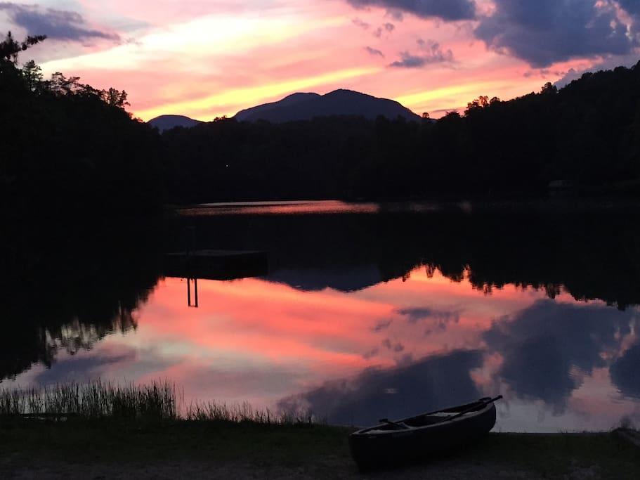 Big Mirror Lake (evening)