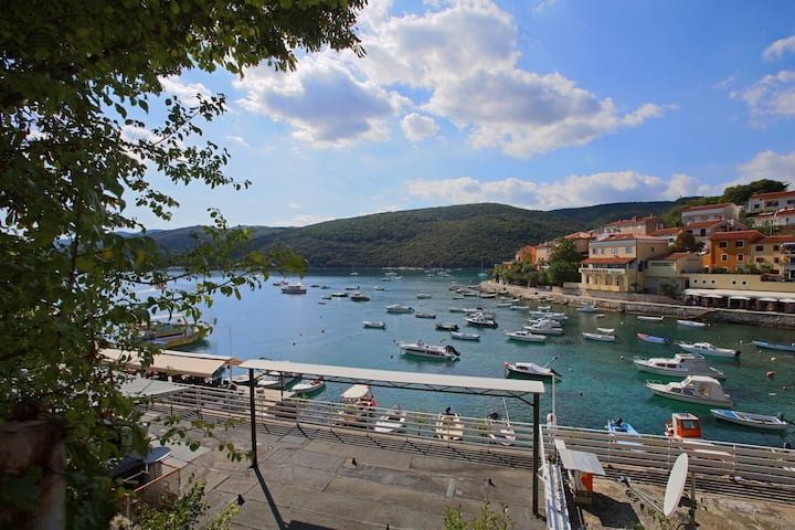 5 pers. app in center of Rabac