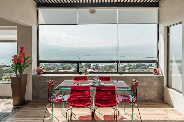 Casa de Campo con Alberca Privada - 3 niveles