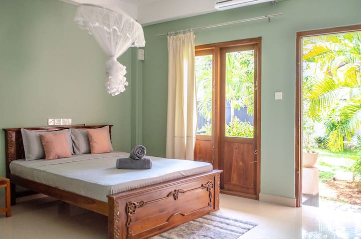 The Native - Room1: Triple Room with Garden View
