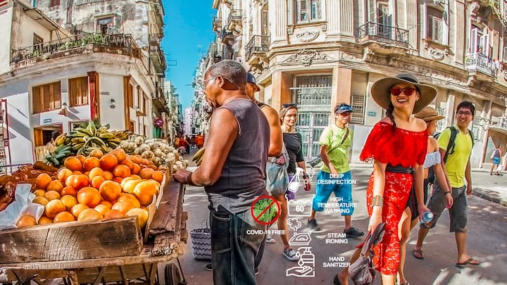 Getting to know CUBA,  back in time...Wi Fi