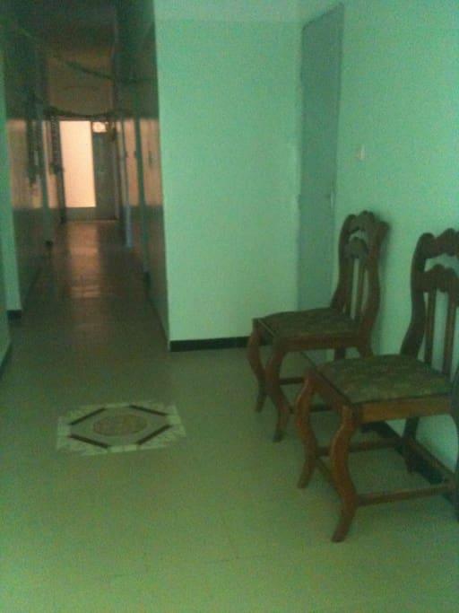 Couloir principal