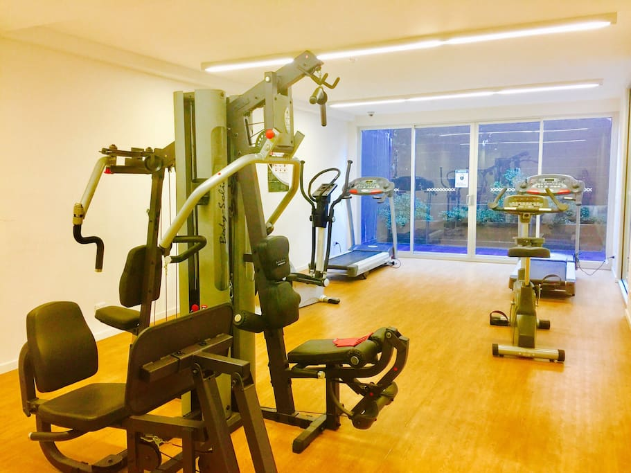 Shared Gym facilities