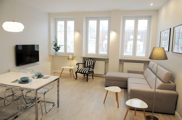 Apartament na wrocławskim Rynku