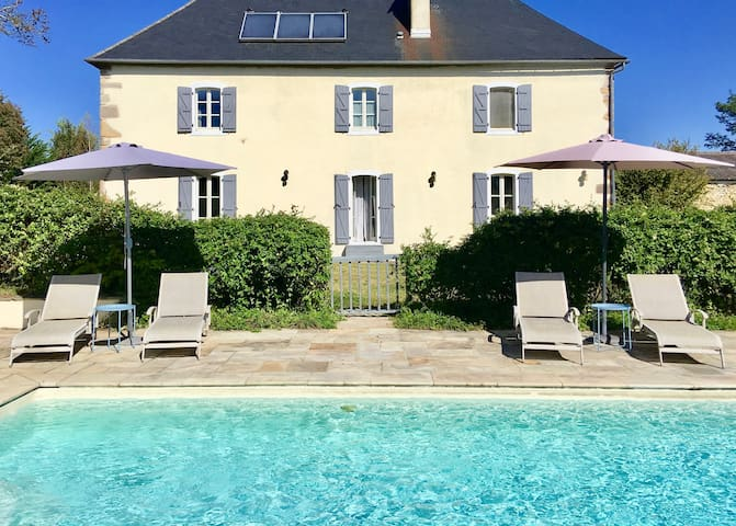 French Farmhouse Chic with Pool & Mountain Views