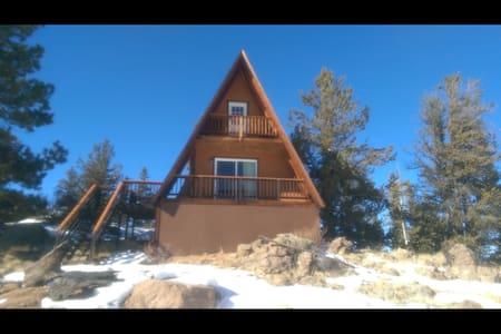 Rocky Mountain A-frame on 5 acres - Indian Hills - Kisház