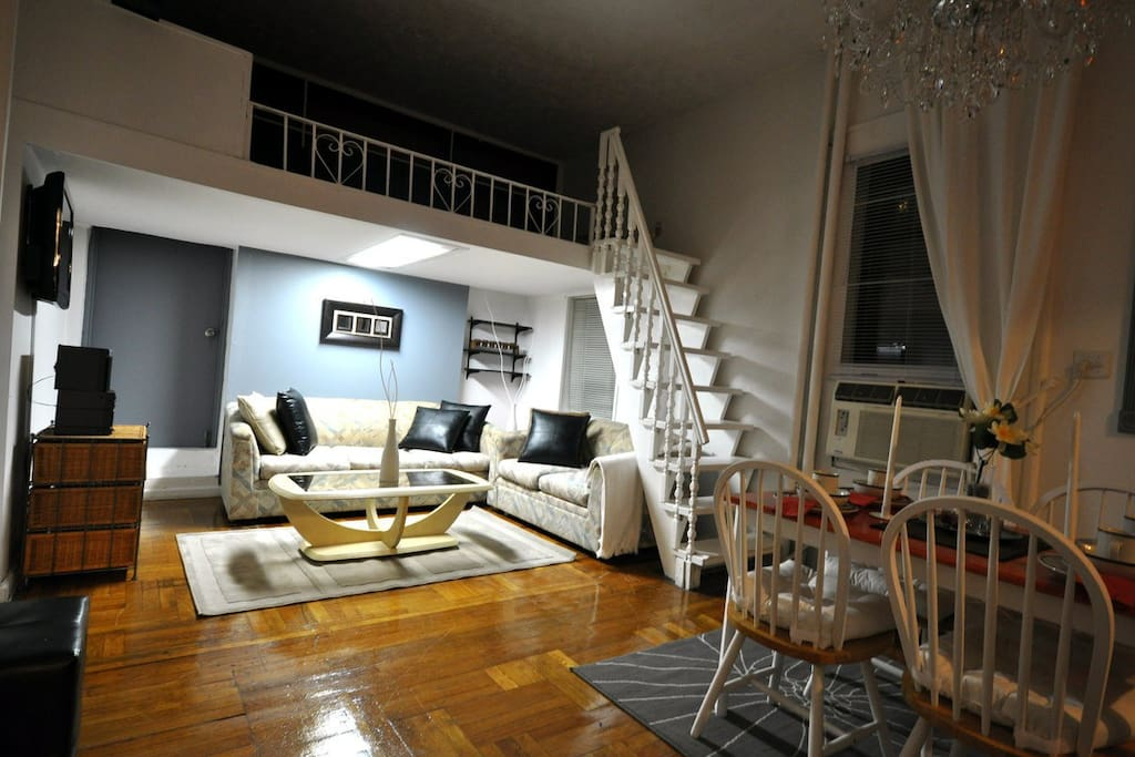 Beautiful 2br loft apt fully furnished close2all for Loft in affitto new york