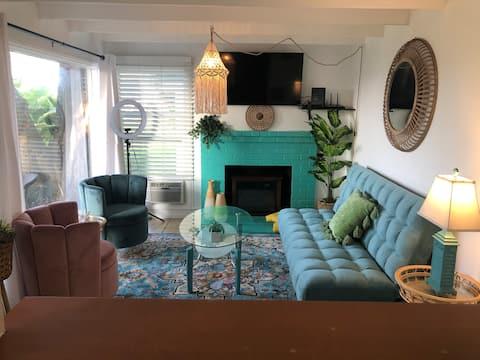 Rustic Malibu Cabana A