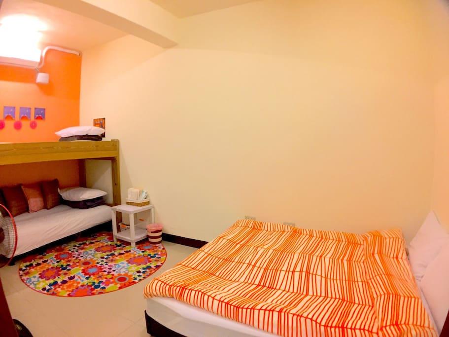 2樓的房間