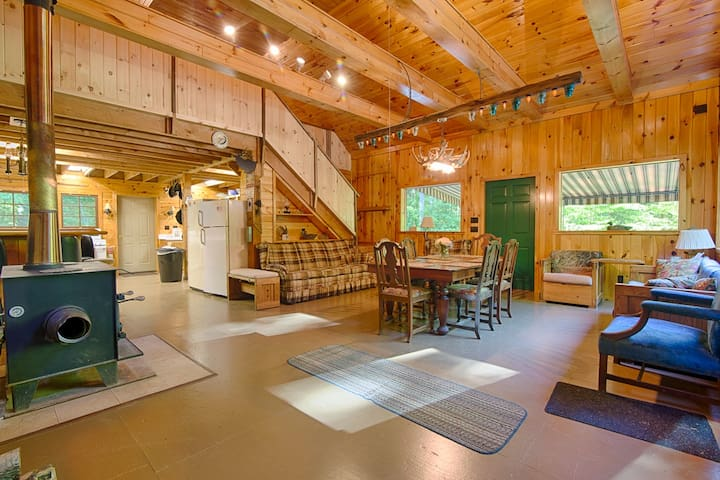 Beautiful private Bemus Point cabin - Bemus Point - Cabane