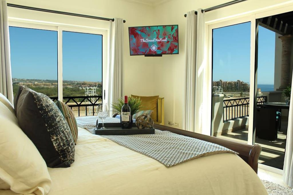 Enjoy waking up to the ocean views from your master suite