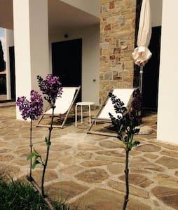 Fragolino, appartement  dans villa avec piscine - Castellabate