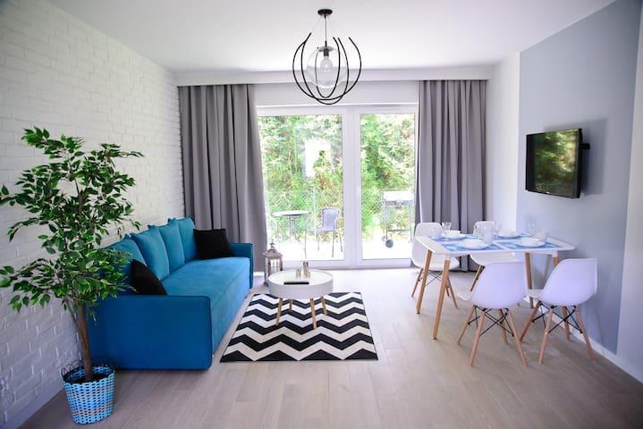 Słoneczne Tarasy II - Apartament Morski
