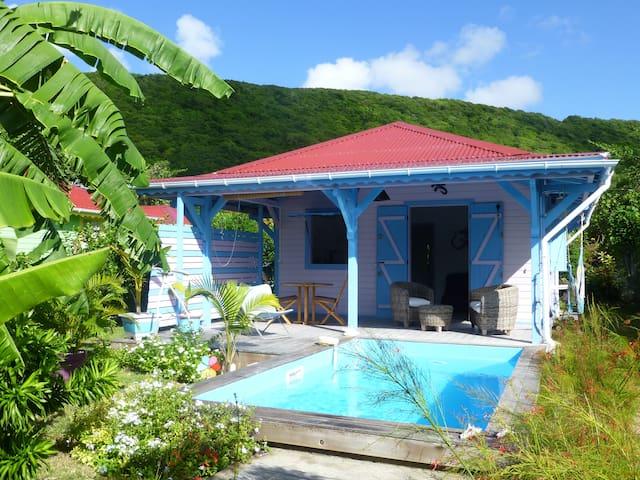 Kaz cannelle, villa créole avec piscine privative - Capesterre-de-Marie-Galante