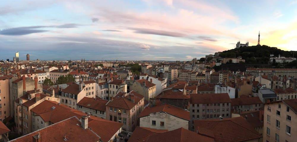 CENTRE VILLE, VUE EXCEPTIONNELLE - Lyon - Apartment