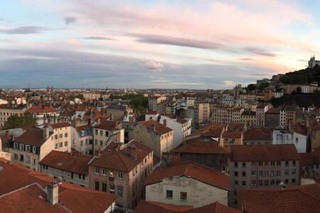 CENTRE VILLE, VUE EXCEPTIONNELLE - Lyon - Wohnung