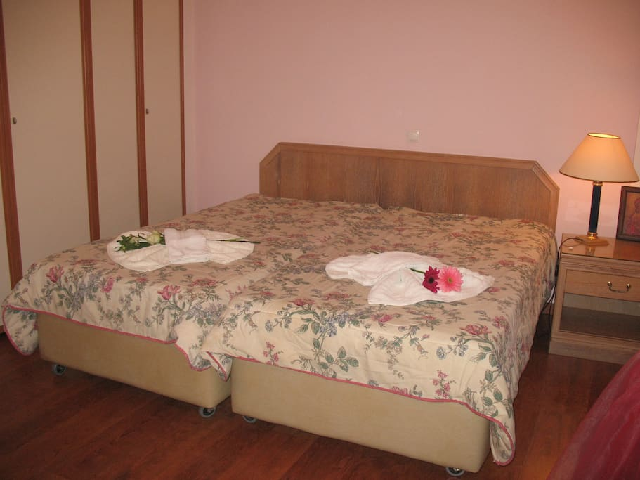 2nd room double bed
