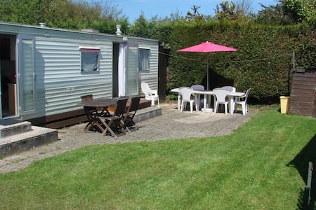 Mobil-home 5 couchages camping 4* - Cancale